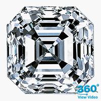 Asscher Cut Diamond 3.01ct - F SI1