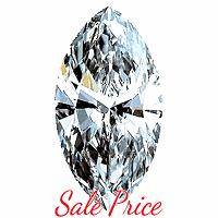 Marquise Cut Diamond 0.73ct - G SI1