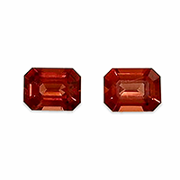 Natural Sunset Red Spinels - 2.54cts