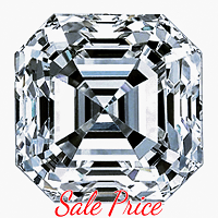 Asscher Cut Diamond 1.03ct - G VS1