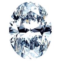 Oval Shape Diamond 0.87ct - I VS2