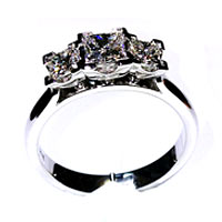 'Michelle' Diamond Engagement Ring - 0.85cts