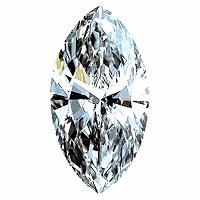 Marquise Cut Diamond 0.96ct - H SI1