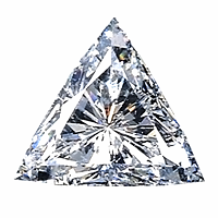 Trilliant Cut Diamond 2.14ct - G SI1
