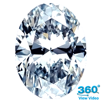 Oval Shape Diamond 1.01ct - F IF