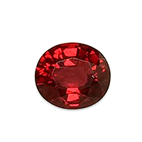 Natural Vibrant Red Spinel - 1.18cts
