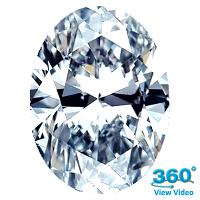 Oval Shape Diamond 1.72ct - F SI1
