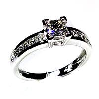 'Brittany' Diamond Engagement Ring - 0.95cts