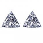 Trilliant Cut Diamond Pairs 0.22ctw - E /F VS