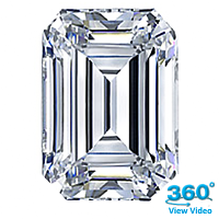 Emerald Cut Diamond 1.52ct - G SI1