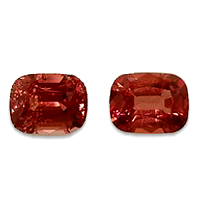 Natural Orangy Pink Spinels - 2.05cts