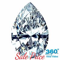 Pear Shape Diamond 1.51ct - K I1