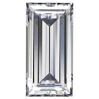 Baguette Cut Diamond 0.88ct - J VVS2