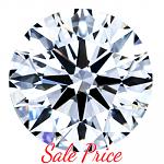 Round Brilliant Cut Diamond 2.71ct - G SI2