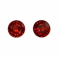 Natural Vibrant Round Red Spinels - 2.80cts