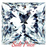 Princess Cut Diamond 0.70ct - F VVS2