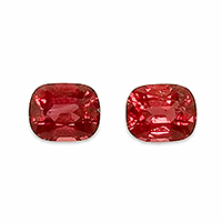Natural Vibrant Red Spinels - 2.47cts