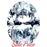 Oval Shape Diamond 1.06ct - F VS1