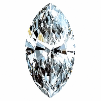 Marquise Cut Diamond 0.71ct - E VS2