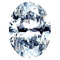Oval Shape Diamond 1.30ct - D SI2