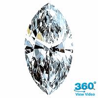 Marquise Cut Diamond 1.21ct - G VS2