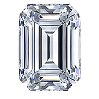 Emerald Cut Diamond 1.21ct - G SI1