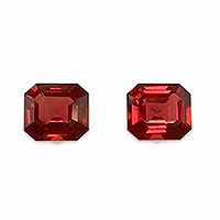 Natural Vivid Red Spinels - 2.17cts