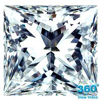 Princess Cut Diamond 1.21ct - E IF