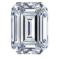 Emerald Cut Diamond 0.91ct - E VS2