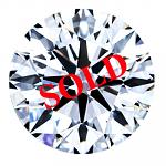 Round Brilliant Cut Diamond 1.04ct - F VS2