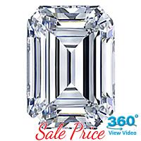 Emerald Cut Diamond 1.01ct - E VS1