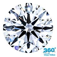 Round Brilliant Cut Diamond 0.67ct - E IF