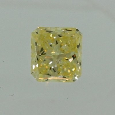 Radiant Cut Diamond 0.40ct - Light Fancy Yellow