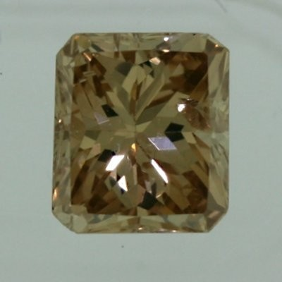 Radiant Cut Diamond 1.09ct - Brown I1