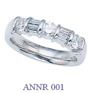 Diamond Anniversary Ring - ANNR 001