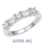 Diamond Anniversary Ring - ANNR 002