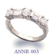 Diamond Anniversary Ring - ANNR 003