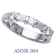 Diamond Anniversary Ring - ANNR 004
