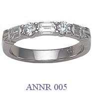 Diamond Anniversary Ring - ANNR 005