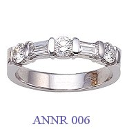 Diamond Anniversary Ring - ANNR 006