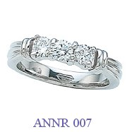 Diamond Anniversary Ring - ANNR 007