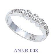 Diamond Anniversary Ring - ANNR 008