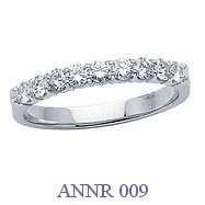 Diamond Anniversary Ring - ANNR 009