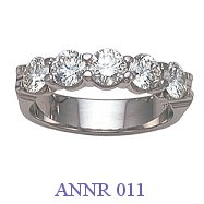 Diamond Anniversary Ring - ANNR 011