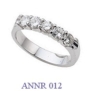 Diamond Anniversary Ring - ANNR 012