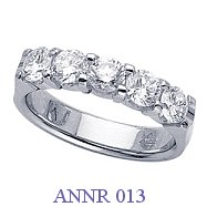 Diamond Anniversary Ring - ANNR 013