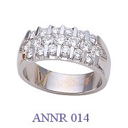 Diamond Anniversary Ring - ANNR 014
