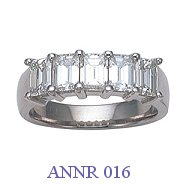 Diamond Anniversary Ring - ANNR 016