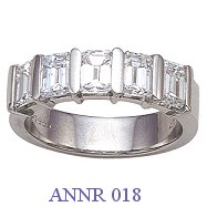 Diamond Anniversary Ring - ANNR 018