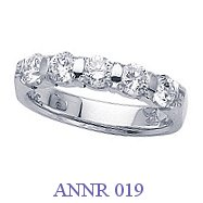 Diamond Anniversary Ring - ANNR 019